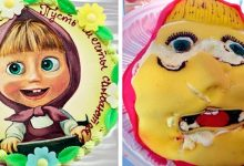 Photo of 19 People Who Tried To Make Beautiful Cakes But Failed Miserably