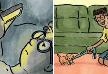 Photo of These Drawings Show Us The Huge Difference Between Living With And Without A Dog