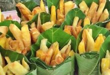 Photo of This Stand Sells Fries In Banana Leaves To Avoid The Use Of Plastic Trays