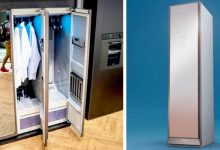 """Photo of Samsung Introduced A """"Smart"""" Walk-in Closet That Washes And Ironers Laundry Without Wasting Water Or Detergents"""