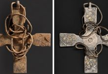 Photo of An Anglo-Saxon Cross Was Found After 1000 Years, Cleaning Operations Revealed Curious Decorations