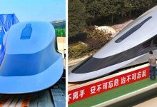 Photo of Prototype Of The World's Fastest Train Unveiled In China, It Reaches 620 Km / H And Moves With A Finger