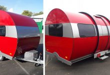 Photo of Don't Be Fooled At First Glance This Caravan Expands To Three Times Its Size In Seconds