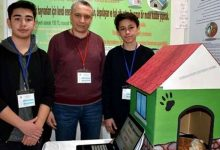 Photo of Two Students Invent A Solar-heated Doghouse To Protect Stray Dogs And Cats From The Cold Winter