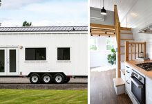 Photo of This House On Wheels Has 4 Rooms And Can Be Easily Transported Inside Is A Real Apartment.