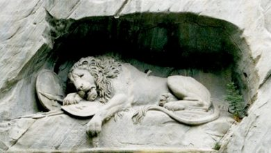 Photo of The Lion Of Lucerne, The Sculpture Where The Artist Hid The Silhouette Of A Pig By Malice