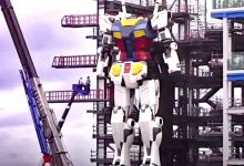 """Photo of Japan, A Colossal """"Gundam"""" Robot Takes Its First Steps. It Is The Largest In The World"""