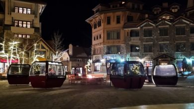 Photo of Old Ski Gondolas Are Becoming Private And Safe Dining Rooms In The Covid Era