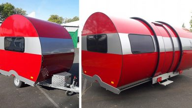 Photo of Don't Be Fooled At First Glance, This Caravan Expands To Three Times Its Size In Seconds.