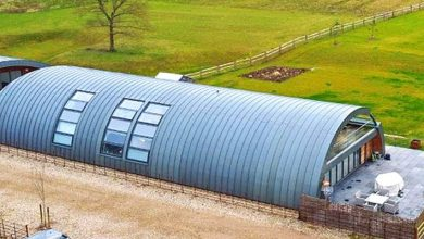 Photo of Hangar Outside, Super Luxurious House Inside. This War Shelter Is Worth $ 2 Million.