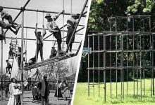 Photo of Dangerous Games: 15 Photos From The Past Show Us How The Parks Of Yesteryear Were Anything But Safe.