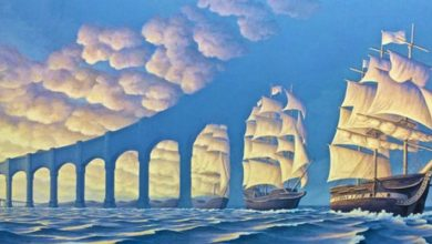 Photo of One Painting, Two Different Scenes: 15 Optical Illusions Where Reality And Imagination Come Together.
