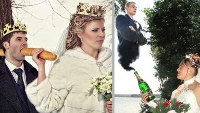 Photo of Russian Weddings: 18 Photos So Unlikely They Are Almost Convincing.