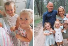"""Photo of A Couple With Dwarfism Has Three Children, The Last One Was Born With A """"Standard"""" Size ."""