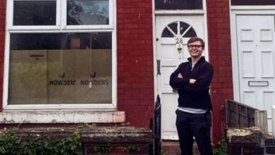 """Photo of He Buys His First House At 19 And Says That All Young People Can Do It: """"It's A Matter Of Choice"""""""