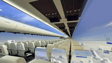 Photo of Windowless Planes Will Make The Flight An Unforgettable, Super-panoramic Experience.