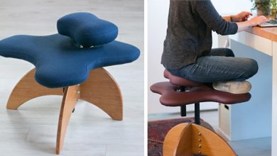 Photo of Here Is The Chair For All Those Who Like To Sit At The Desk With Their Legs Crossed.